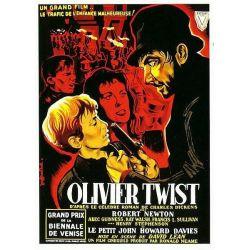 Affiche Oliver Twist (de David Lean)