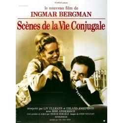 Affiche Scènes de la Vie Conjugale (de Ingmar Bergman)