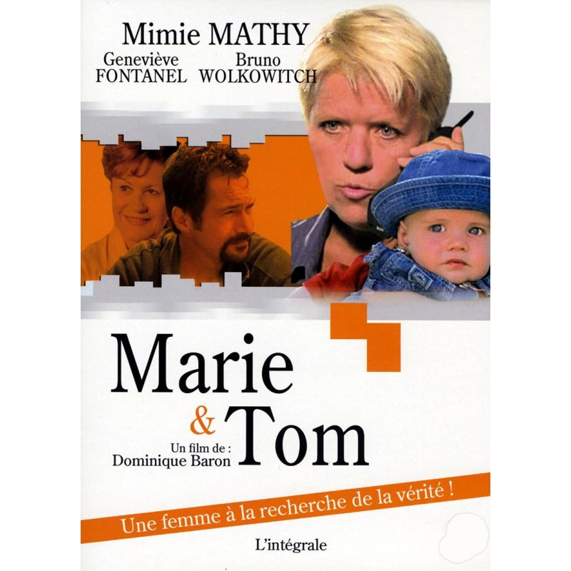Marie & Tom (Mimie Mathy) - double DVD Zone 2