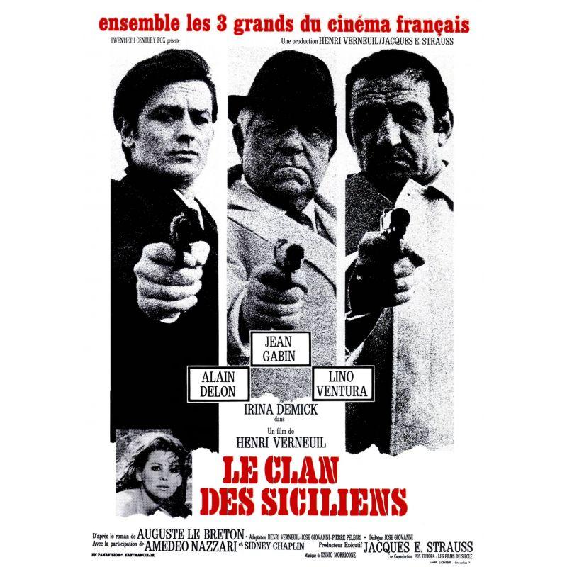 Affiche Le Clan des Siciliens (de Henri Verneuil)