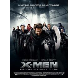 Afficeh X-Men : L'Affrontement final (Hugh Jackman)