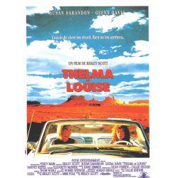Affiche Thelma & Louise (Susan Sarandon & Geena Davis) - DVD Zone 2