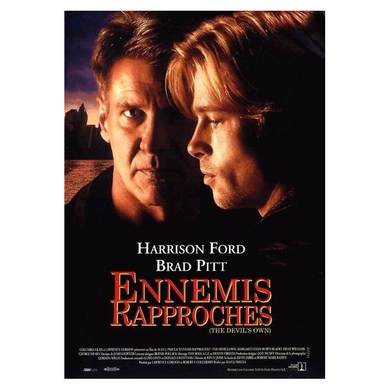 Affiche Ennemis rapprochés (Harrison Ford, Brad Pitt)