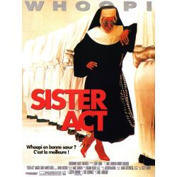 Affiche film Sister Act (Whoopy Goldberg)