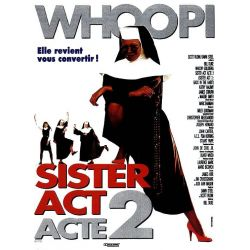 Affiche Sister Act, acte 2 (Whoopy Goldberg)