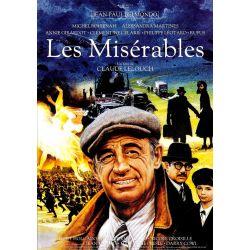Affiche Les Misérables (Belmondo)