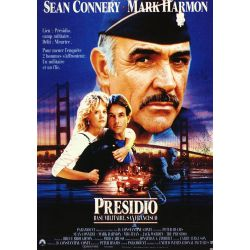 Affiche Presidio, Base Militaire, San Francisco (Sean Connery)