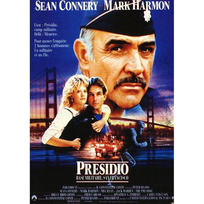 Affiche Presidio, Base Militaire, San Francisco (Sean Connery)