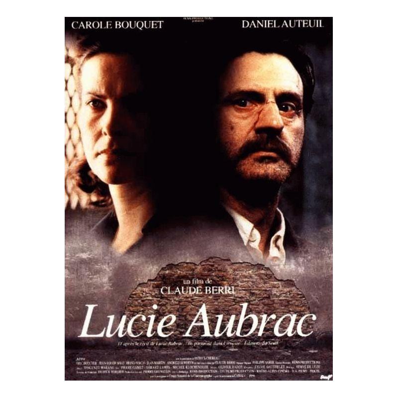 Affiche Lucie Aubrac (Carole Bouquet & Daniel Auteuil)
