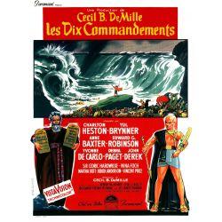 Affiche Les Dix Commandements (Cecil B. DeMille)