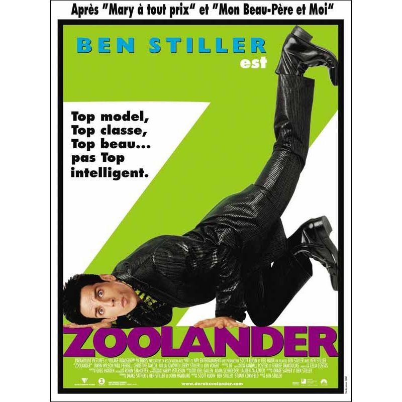 Affiche Zoolander (Ben Stiller)
