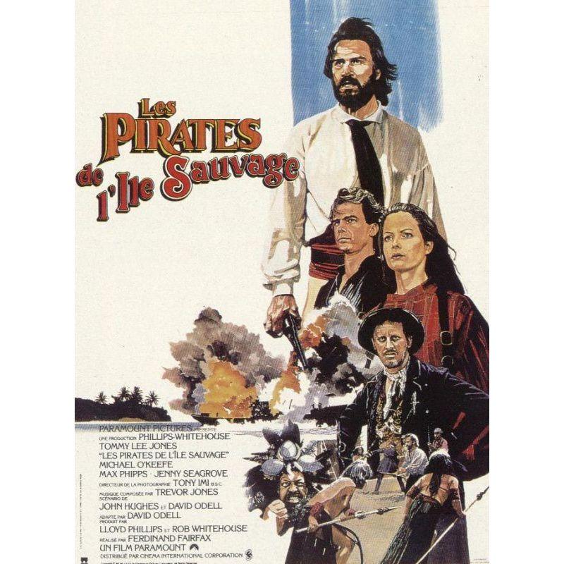 Affiche Pirates des Iles Sauvages (Tommy Lee Jones)