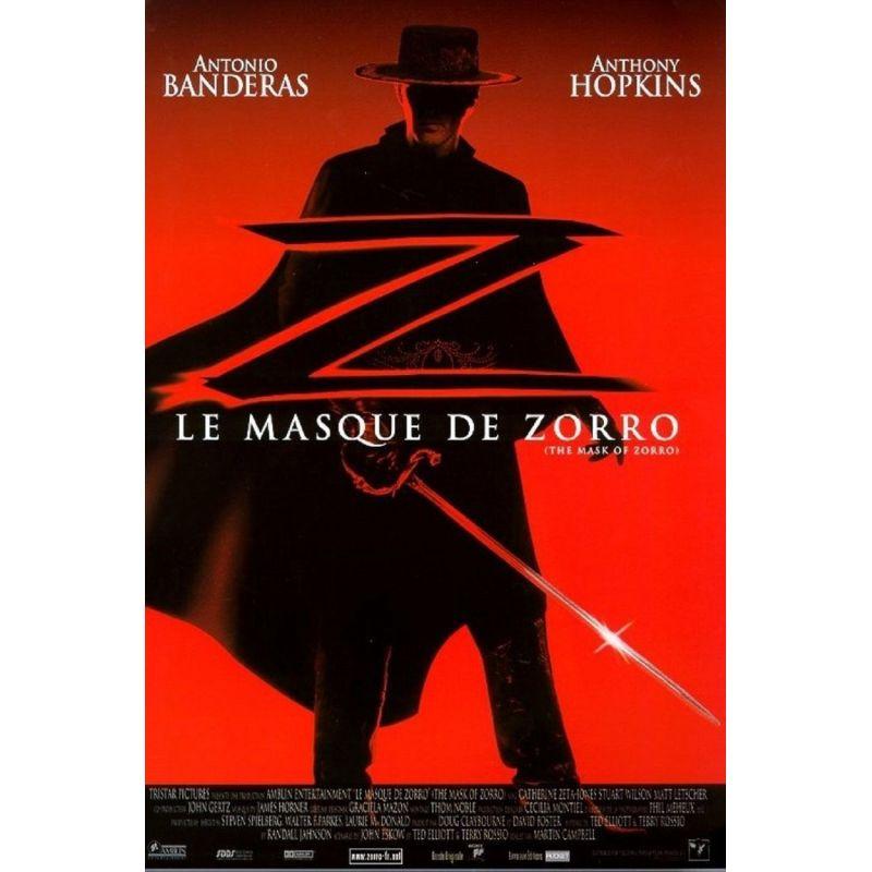 Affiche Le Masque de Zorro (Antonio Banderas)