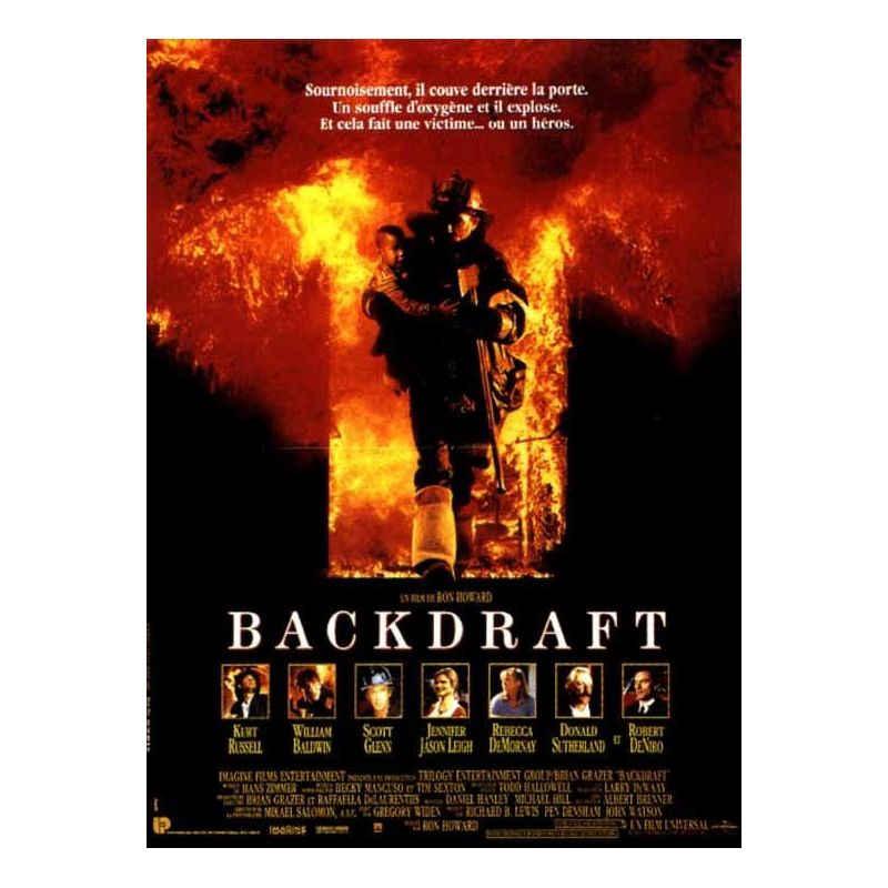 Affiche Backdraft (de Ron Howard)