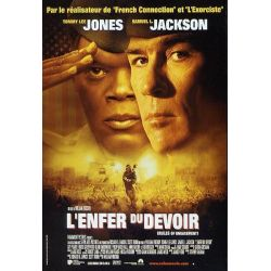 Affiche L'Enfer du Devoir (Tommy Lee Jones, Samuel L. Jackson)
