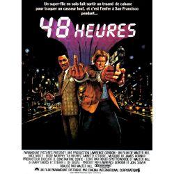 Affiche 48 heures (Nick Nolte, Eddie Murphy)