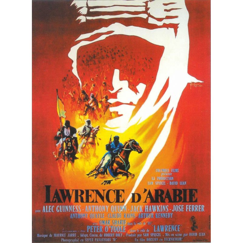 Affiche Lawrence d'Arabie (Peter O'Toole)