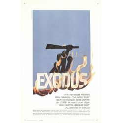 Affiche Exodus (Paul Newman)