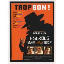 Affiche  Escrocs mais pas Trop (Collection Woody Allen)