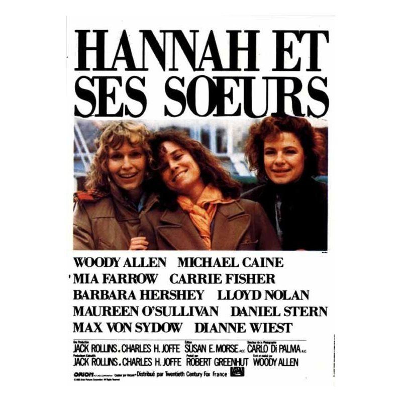 Affiche Hannah et ses Soeurs (Collection Woody Allen)