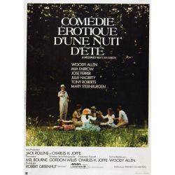 Affiche Comédie érotique d'une nuit d'été (Collection Woody Allen)