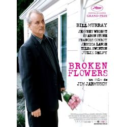 Affiche Broken Flowers (de Jim Jarmusch)