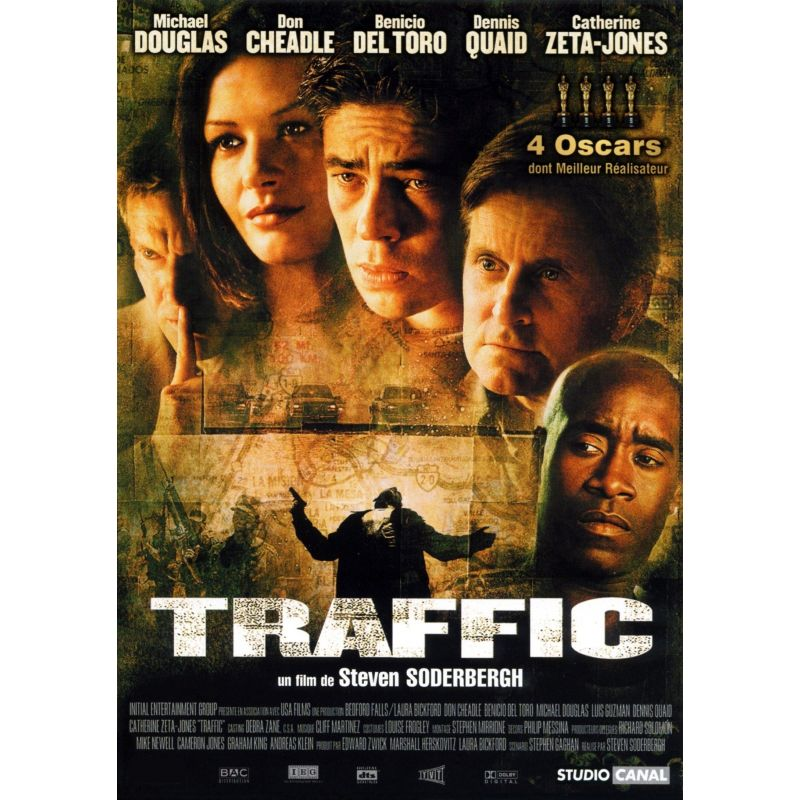 Affiche Traffic (Michael Douglas)