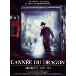 Affiche L'Année du Dragon (de Michael Cimino)