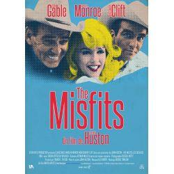Affiche  The Misfits (Les désaxés) - (de John Huston)