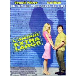 Affiche L'Amour extra large (Gwyneth Paltrow & Jack Black)