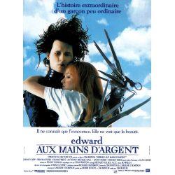 Affiche Edward aux Mains d'Argent (de Tim Burton)