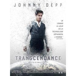 Affiche Transcendance (avec Johnny Depp)