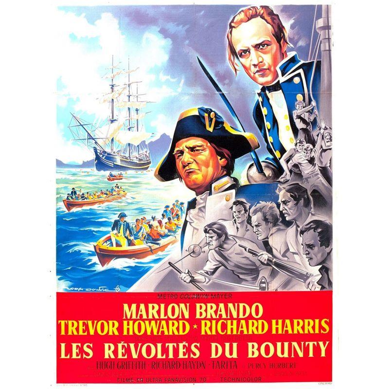 Affiche Les Révoltés du Bounty (de Lewis Milestone)