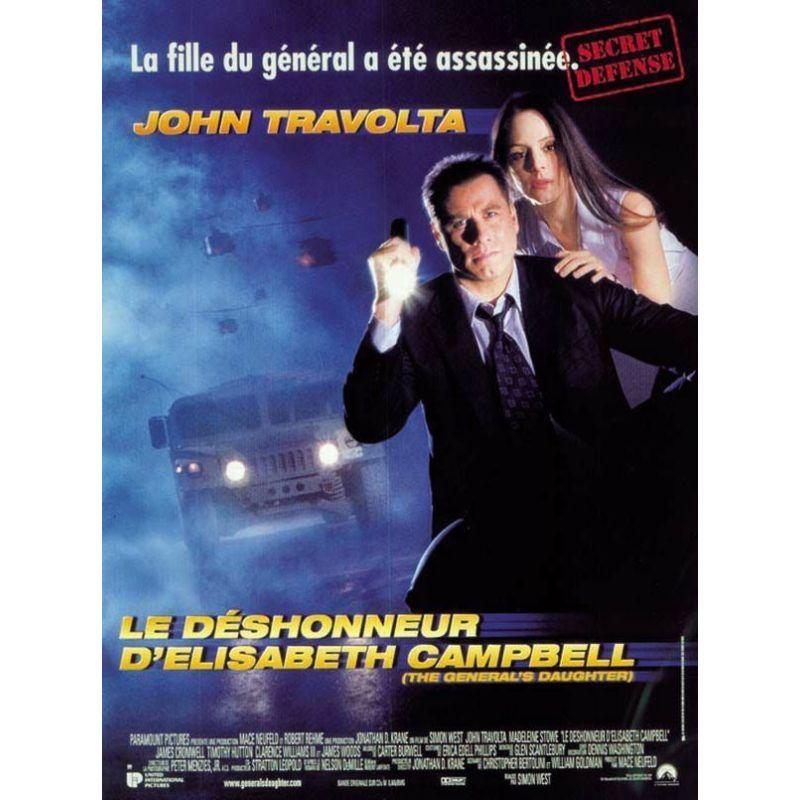 Affiche Le Déshonneur d'Elisabeth Campbell (John Travolta)
