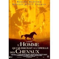 Affiche L'homme qui murmurait à l'oreille des Chevaux (de Robert Redford)