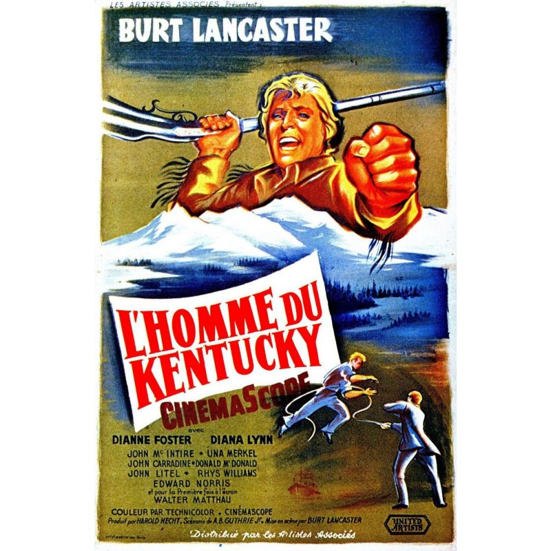 Affiche L'Homme du Kentucky (de Burt Lancaster)