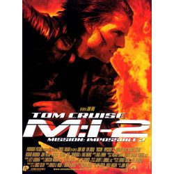 Affiche  M:I-2 - Mission : Impossible 2 (de John Woo)