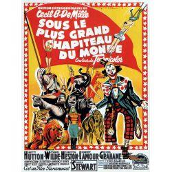 Affiche Sous le Plus Grand Chapiteau du Monde (de Cecil B. DeMille)