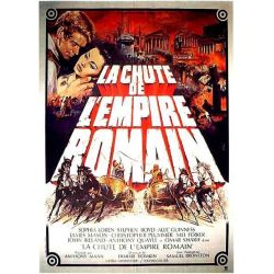 Affiche La Chute de l'Empire Romain (de Anthony Mann)