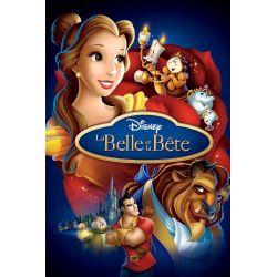 Affiche La Belle et la Bête (Disney)