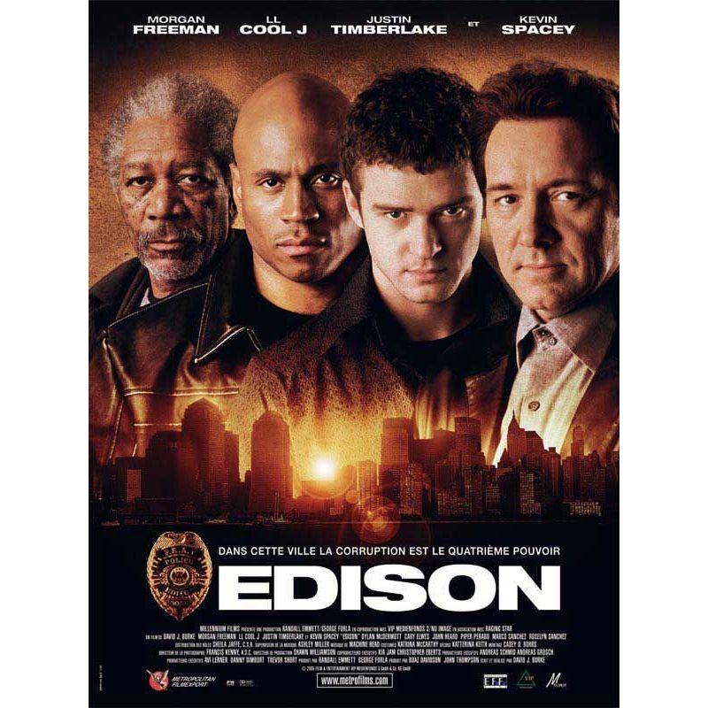 Affiche Edison (Avec Morgan Freeman)
