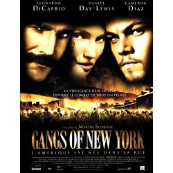 Affiche Gangs of New York (de Martin Scorsese)