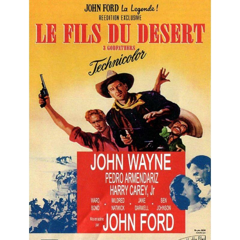 Affiche Le Fils du Désert (John Wayne)