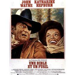 Affiche  Une Bible et un Fusil (John Wayne)