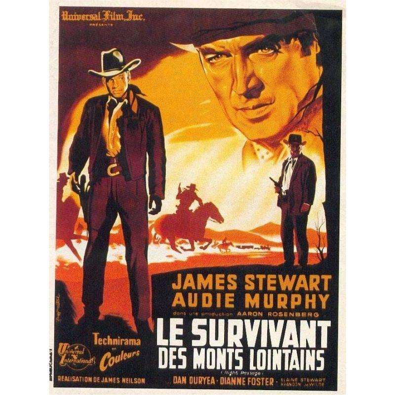 Affiche Le Survivant des Monts Lointains (James Stewart)