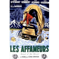 Affiche Les Affameurs (James Stewart)