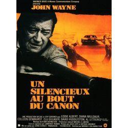 Affiche Un silencieux au bout du canon (John Wayne)