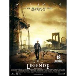 Affiche Je suis une Légende (Will Smith)