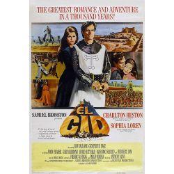 Affiche Le Cid (de Anthony Mann)