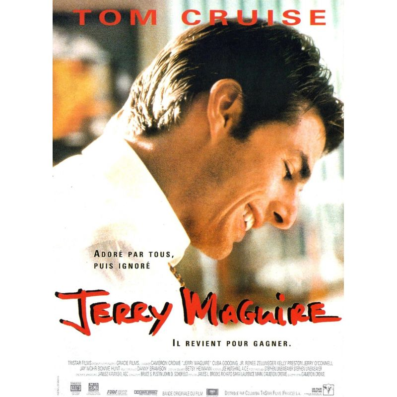 Affiche Jerry Maguire (Tom Cruise)